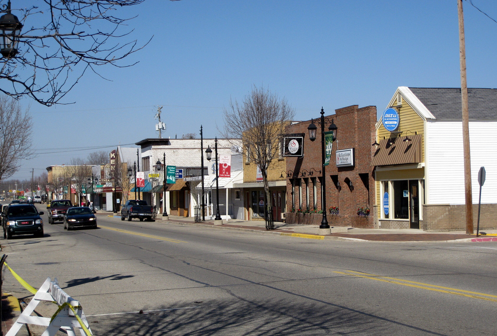 Downtown Cedar Springs, Michigan