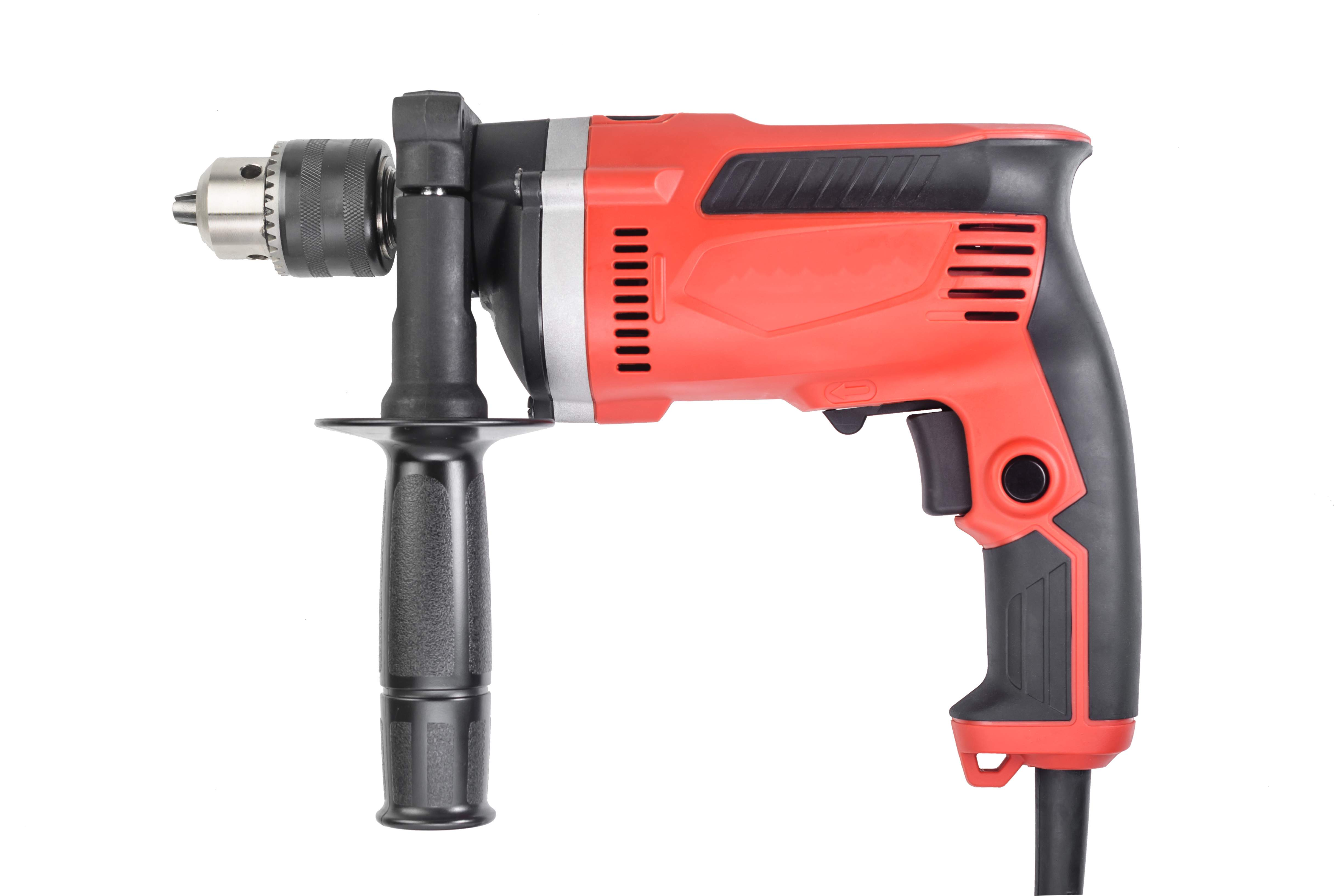 Over-molded Hand Held Electric Drill